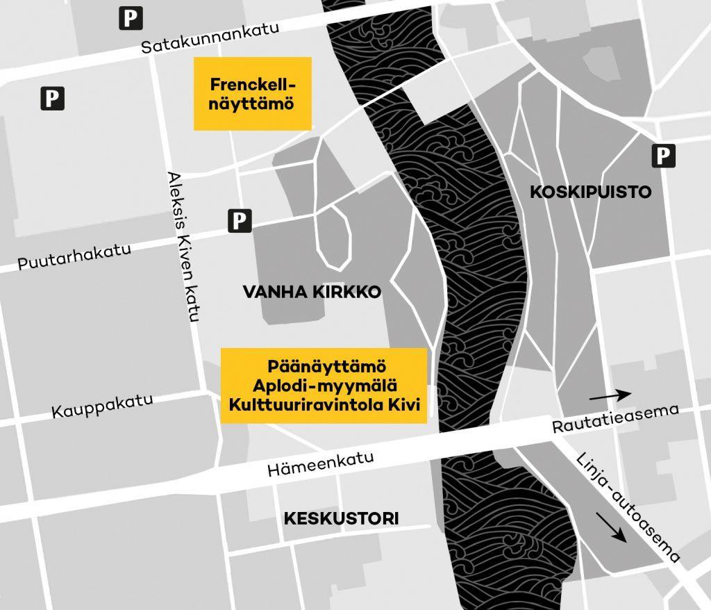 Saapuminen Teatteriin Tampereen Teatteri